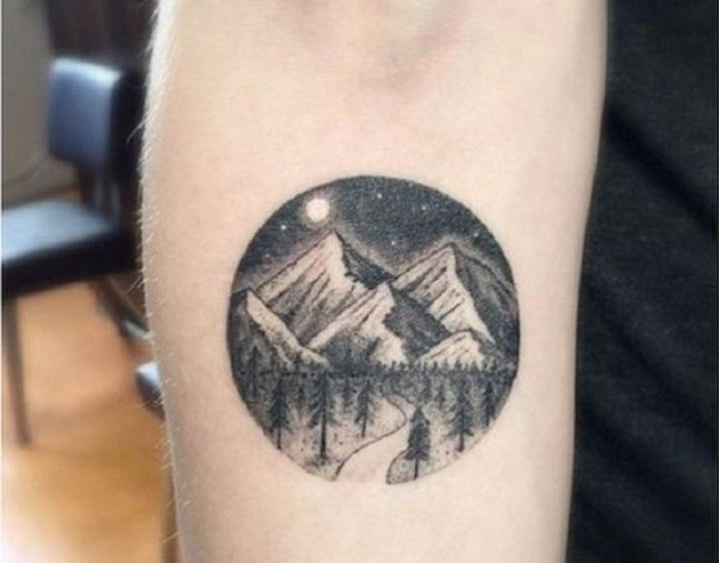 Idees Tattoo Pour Amoureux De La Montagne Beachbrother Magazine